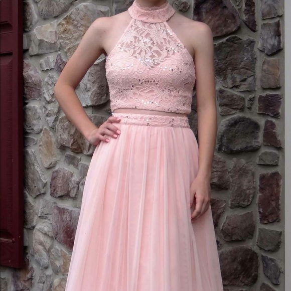 e30bc0dc59da Dresses | Light Pink 2 Piece Prom Dress | Poshmark
